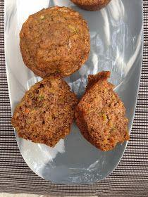 Coconut, Carrot, and Zuchini Muffins