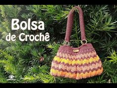 Bolsa de Crochê Professora Simone - YouTube