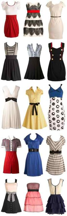 Pin up style? Vintage Wear, Vintage Dresses, Vintage Outfits, Vintage Clothing, Vintage Style, Rockabilly Fashion, Retro Fashion, Vintage Fashion, Pin Up Style