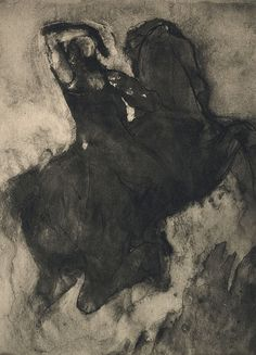 Photogravure of Drawing II  Rodin, Auguste, b.1870-1917  Camera Work XXXIV/XXXV, 1911  Discover the coolest shows in New York at www.artexperience...