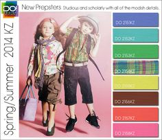 2014 Fashion Trends for children | Spring Summer 2014 Color Trends for Kids by Design Options | Nidhi ...