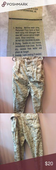 4e79169230dda Genuine Military Desert Camo pants Genuine military camo pants. Popper  International, Inc Pants Trousers