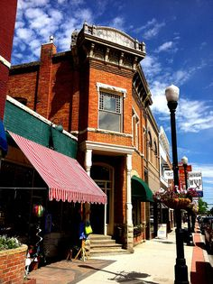 Downtown Sheridan WY. This is Main St. I walk by this building every single day.