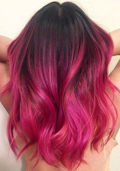 45 Gorgeous Pink Hair Color Trends for Long Hair in 2018. Trendy ideas of pink hair colors to wear with long, medium and short haircuts in 2018. See here also the most awesome collection various hair color shades else this given pink color. We highly recommend you to visit here for best styles pink colors if you are seriously want to change your old and existing hair colors.