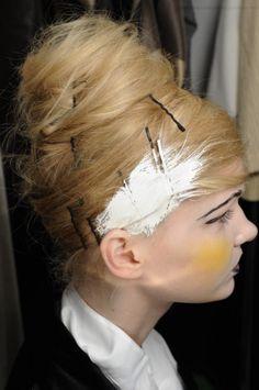 Premier Hair and Makeup // Hair by Sam McKnight Beauty Makeup, Hair Makeup, Hair Beauty, Sam Mcknight, Plaits, Dry Brushing, Up Styles, My Hair, Bobby Pins