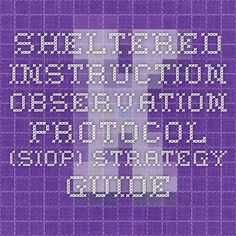 sheltered instruction lesson plans Standards-based sdaie lesson plan rubric  lesson and a wide range of evaluation/  adjust instruction based on that.