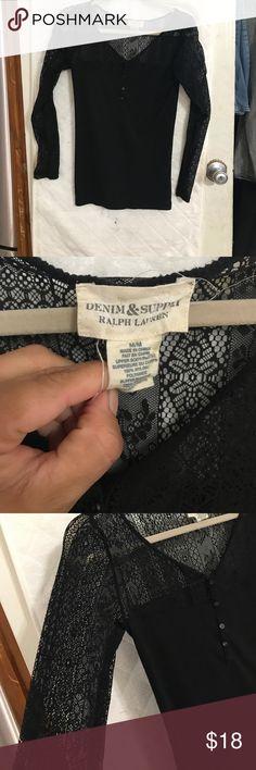 Denim & supply blouse by Ralph Lauren Beautiful denim & supply blouse by Ralph Lauren Denim & Supply Ralph Lauren Tops Blouses
