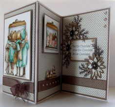 Wonderful Front & Back. My Favorite Things card by Kirsi Kamppikoski.