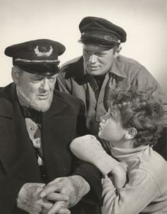 Down to the Sea in Ships (1949) Richard Widmark,  Lionel Barrymore, Dean Stockwell
