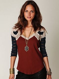 Warrior Chief Crochet Back Top