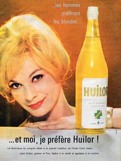 Publicité Huilor 1960