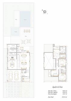 Casa 1 rea do projeto 202 80m espa o ocupado pelo for Casa moderna de 7 00m x 15 00m