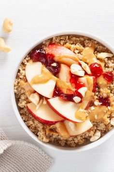 Quinoa Porridge, Oatmeal, Low Carb, Cookies, Breakfast, Kitchen, Food, Diet, Nutritional Value