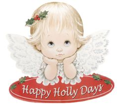 Ruth Morehead - happy holly days angel