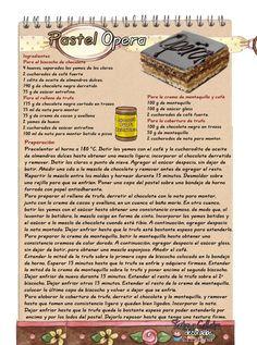 La torta ópera es un delicioso pastel dechocolate, clásico de la repostería francesacreada en los años 50 por Gastón Lenôtre.   La bau...