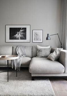 Living Room : Cold and warm looks combined via Coco Lapine Design blog