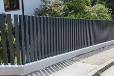 An elegant fence with an extraordinary design! This aluminum fence is a highlight for any garden! Zaun An elegant fence with an extraordinary design! This aluminum fence is a highlight for any garden!