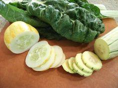 organic, heirloom veggies from the garden