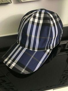 75800d8087d NWT Burberry London blue plaid baseball cap hat  280  fashion  clothing   shoes  accessories  mensaccessories  hats (ebay link)