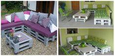 Hogyan varázsold csodássá a teraszod raklapból készített bútorokkal