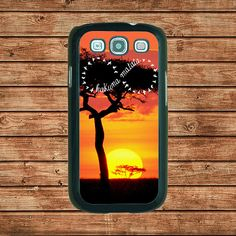 Samsung Galaxy S3 case---Hakuna Matata infinity,in plastic hard case,black or white or clear color by tomes8899, $14.99