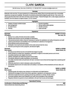 Best Bartender Resume Fair Resume Sample Project Manager Management Resumeoject Resumeg  Home .