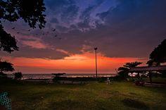 Shot from Kannur, Payyambalam Beach park ..!! :)
