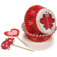 Bug Heart Cupcake Combo Pack