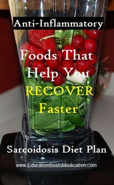 Sarcoidosis diet