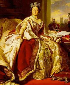 Queen Victoria's Coronation Gown It's family history, that my great great great grandmother was one of the 12 seamstresses of Queen Victoria's Coronation Gown.