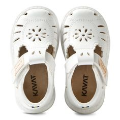 These classic shoes from Kavat are a great addition to your little one's early footwear collection. Crafted from a breathable, dur
