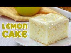 SOFT AND FLUFFY LEMON CAKE | Easy Recipe | Homemade | Baking Cherry - YouTube