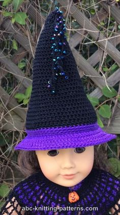 Free Knitting Pattern Witch Doll : Girl dolls, Sweet and Free crochet on Pinterest