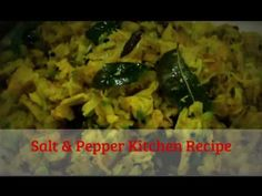 Salt & Pepper Kitchen Recipe