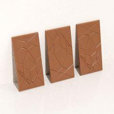 Omnom Chocolate geometric chocolate bars.