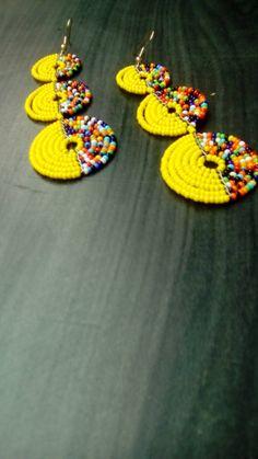 ON SALE Kenyan Earrings Bead Earrings African Earrings | Etsy