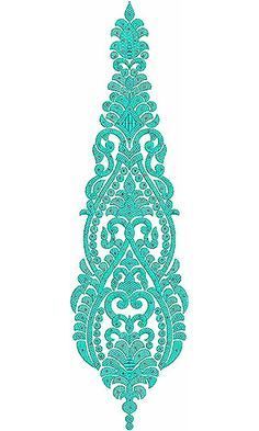 Latin Ballroom Dancing Dress Embroidery Design