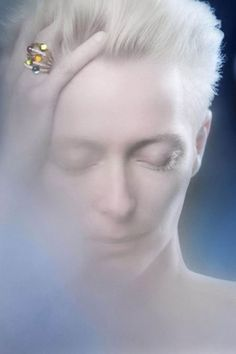 Tilda Swinton for Pomellato Official Spring Ad campaign 2012 Photos: Jeff Burton / Courtesy of Pomellato Tilda Swinton, Artistic Photography, Fashion Photography, People Photography, Portrait Photography, British Actresses, Actors & Actresses, Michael Clayton, Jeff Burton