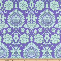 DRESS | Amy Butler Love Bali Gate Perwinkle | ACCENTS 1. https://www.fabric.com/buy/cn-373/amy-butler-love-paradise-garden-periwinkle?cm_vc=8b573eb5-7d2f-44e7-98ab-d0417cafab75   2.  https://www.fabric.com/buy/cn-364/amy-butler-love-sunspots-olive