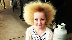 Uncombable hair syndrome or Pili Trianguli Et Canaliculi, 639 Spun-glass hair, and Cheveux incoiffables, is a rare structural anomaly o. Loose Hairstyles, Unique Hairstyles, Summer Hairstyles, Morning Hair, Hair Protein, Hair Starting, Strawberry Blonde, Bad Hair Day, Grow Hair
