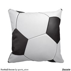 Football Soccer Pillow