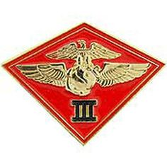 US Marine Corps - 3rd Marine Air Wing Pin