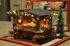 true2scale: Christmas Market Stall | Dollhouse Miniatures | Printables, Tutorials, Inspiration