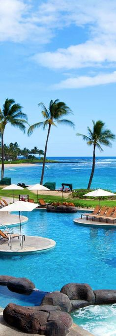 Look at that view...the view is a 5 star rating as far as I'm concerned. Sheraton Kauai Resort...Hawaii