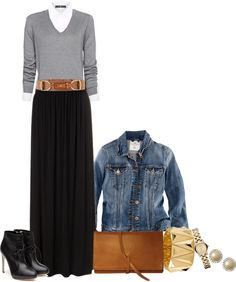 "cute mom outfit lol ""Button-down Casual"" by moccsie ❤ liked on Polyvore"