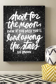 Shoot for the moon free printable