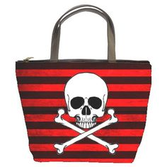 Pirate Bucket Bag by Stuff of the Dead