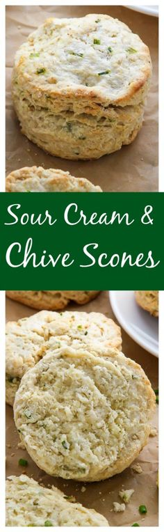 ... sour cream and chive scones fluffy and flavorful sour cream and chive