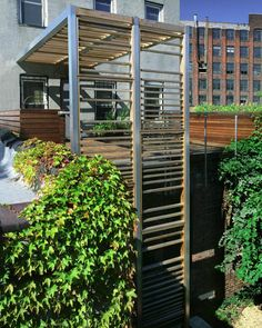 Brooklyn roof deck & trellis, Leone Design Studio | Remodelista Architect / Designer Directory