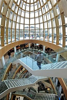 New re vamped Central Library, Liverpool, England